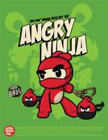 Angry Ninja and Co. by supermanisback