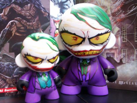 Munny Jokers by KidNotorious
