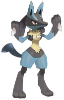 Lucario by Waito-chan