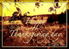 Happy Thanksgiving Day by Capricuario
