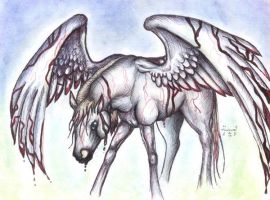 The Birth of Pegasus by who-stole-MY-name