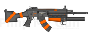 NOC'S VKR-30 Modular Rifle by ThantosEdge