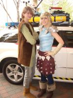 Astrid and Hiccup HTTYD by Matareno