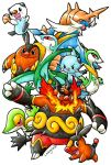 Pokemon - Starters Pokemon Gen5 by Arelle28
