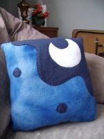 Princess Luna Pillow Large by CynicalSniper