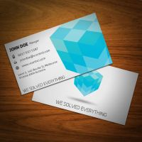 Cubic Business Card 05 by KaixerGroup