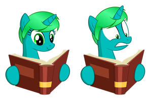 Kimi the bookworm by Culu-Bluebeaver