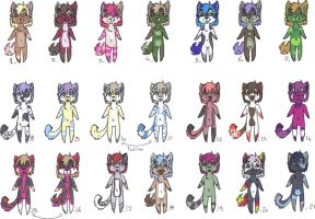 Tiny adopts pack 01 - 1 left by lfraysse