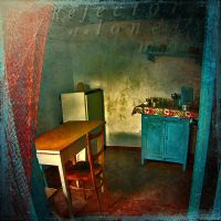 Refectory of a Lonely Man by inObrAS