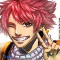 Icon-commission~Natsu by Xiaooyu
