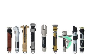 Lightsaber Designs off by Stephen-Daymond