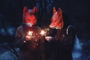 Firefoxes by lafaette