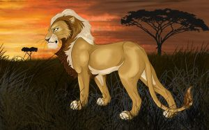 Lion by Whodovoodoo