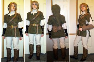 Twilight Princess Link WIP by Ratsukorr