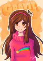 Mabel Pines - Gravity Falls by konakon24
