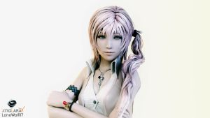 Studio Series: Serah Farron (Portrait) by LoneWolf117