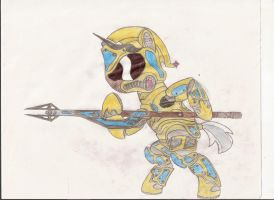 Celestian Royal guard of the new milenium in color by tay-houby