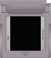 Game Boy Cartridge by BLUEamnesiac