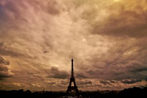 Over Paris by theDexperience