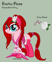 MLP - Exotic Rose Reference Sheet by porcelian-doll
