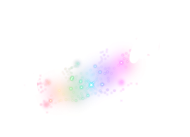 Rainbow Glitter Png by MaddieLovesSelly