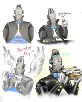 Colored Lawrence Doodles by ShadowCorvus