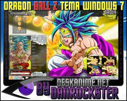 Broly Theme Windows 7 by Danrockster