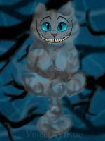 Cheshire Cat by VoiceOfVirtue