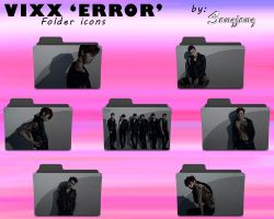 VIXX 'ERROR' Folder Icons by sangjang
