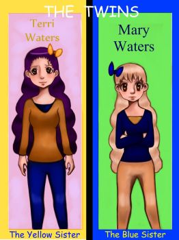 Terri and Mary Waters by DemonChroniclesOwner