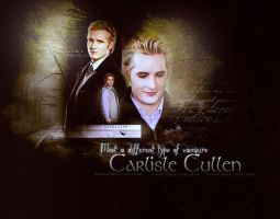 Carlisle Cullen Wallpaper by GABY-MIX
