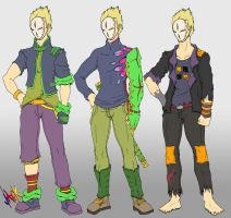 Jack of All Shades Fashion by Cannibal-Cartoonist