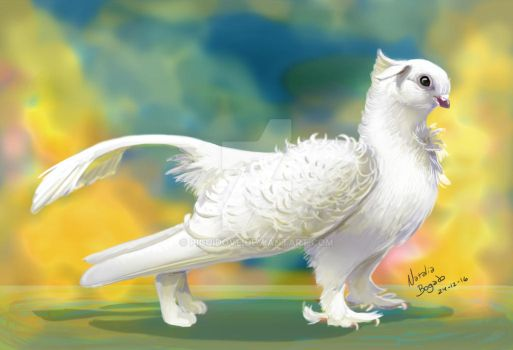 Peshenk, the Heavenly Gryphon by PicuiDove