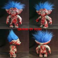 Edward The Zombie Troll ooak by Undead-Art