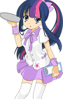 Humanized Twilight Sparkle by Xered