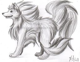 Arcanine by Kirsui