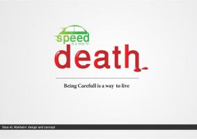 speed is away to death by SaraALMukhaini