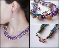 Santi Jewelry Set by ALINAFMdotRO