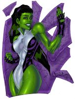 She-Hulk by LordWilhelm