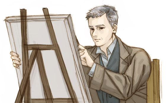 Portrait painter lestrade by cosom