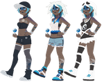 Pokemon AU - Marina by Elevera