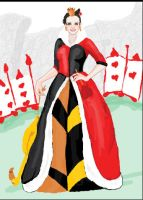 queen of hearts by electricjesuscorpse