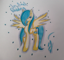 Sunny Sky on the paper by MelPudding