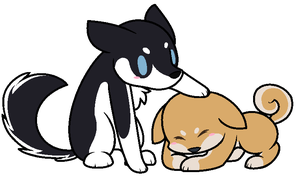 Sum puppehs by InvaderYix