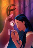 Pocahontas and the Prince by Zimeta