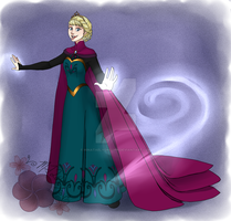 Contest Entry: Queen Elsa of Arendelle by HinataElyonToph