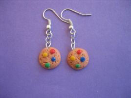 Cookie Earrings by ClayMyDay