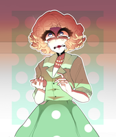 HOUSEWIFE RADIO (with a speedpaint oh my) by cuttlewltch