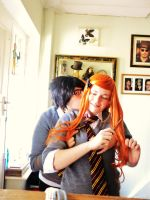 James/Lily - Kiss on the Neck by sparrowhawk51