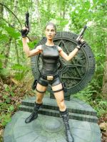 Tomb raider lara croft 3 by Enelaur